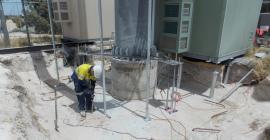Wireless site construction activities
